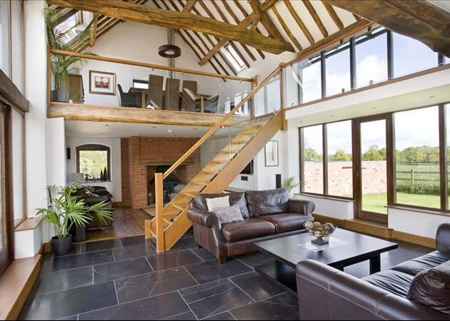 4 bedroom house for sale in fosse way harbury leamington Converted barn homes for sale in texas