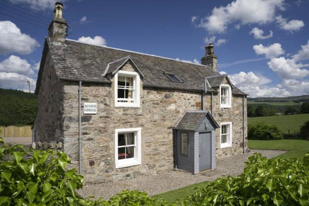 4 bedroom farm house for sale in dunkeld perth and kinross ph8 ph8