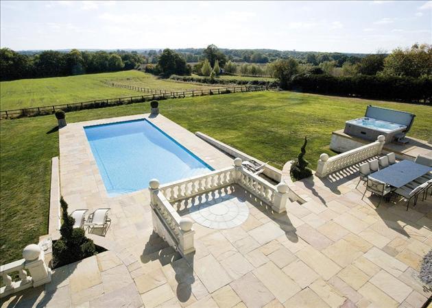 Pool, Terrace, View
