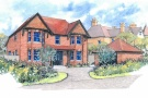 Detached house in New Park Road, Cranleigh...