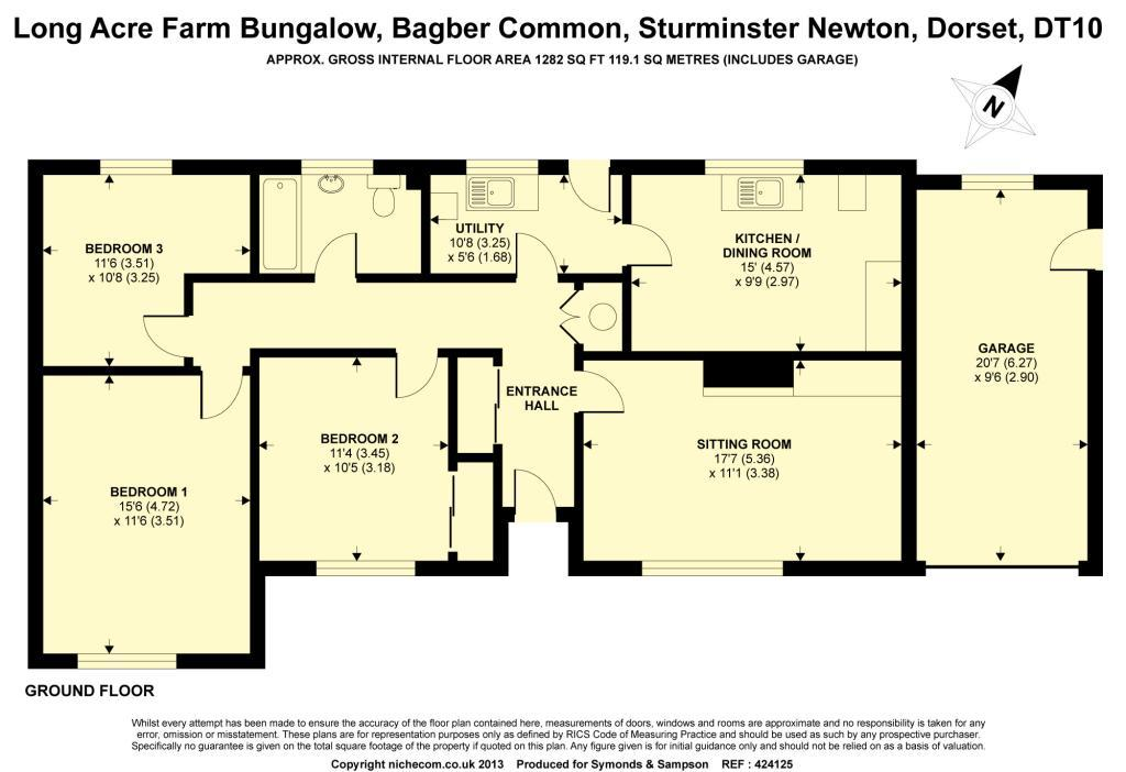 3 bedroom bungalow to rent in bagber common sturminster Bungalow house plans 3 bedrooms