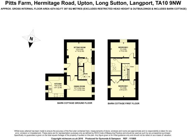 Floorplan Barn Cott
