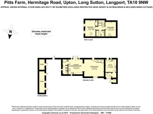 Floorplan Annexe Cot