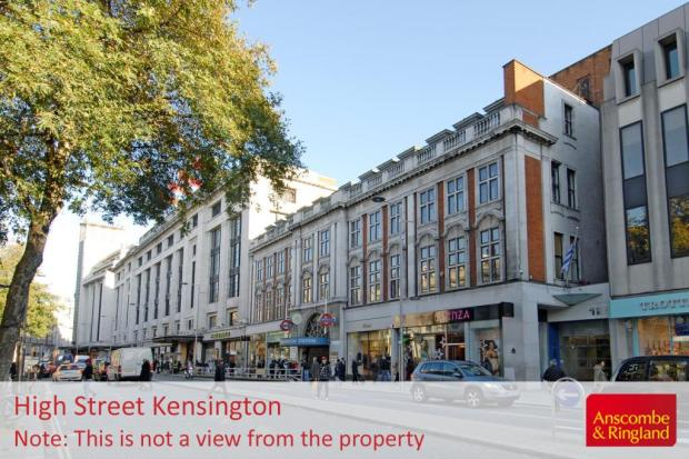 Local Area Shot: Kensington High Street