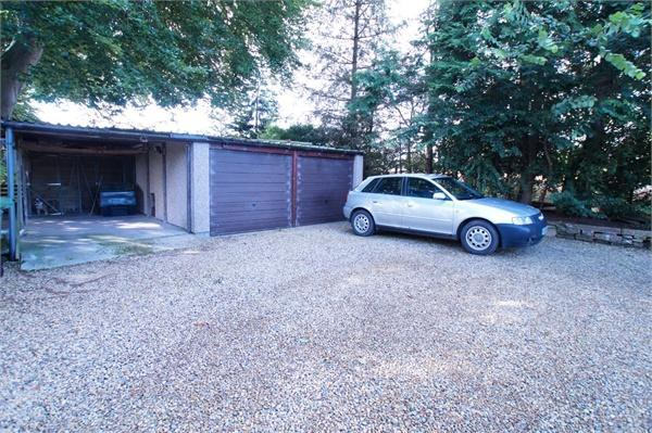 Driveway and Garage