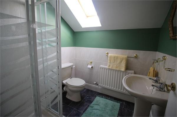 En-suite shower roo