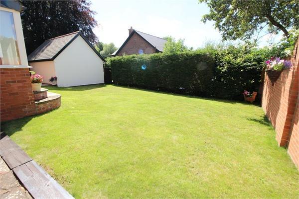 Rear Lawned Garden