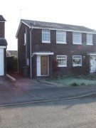 Terraced property to rent in Knightley Close, Gnosall...