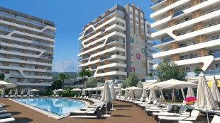 2 bedroom new Apartment for sale in Antalya, Alanya, Alanya