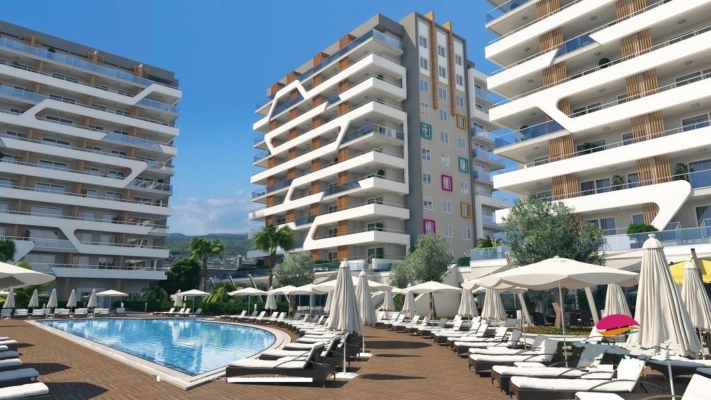 2 bedroom new Apartment for sale in Antalya, Alanya, Alanya