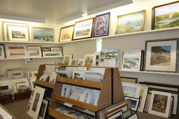 Lower Gallery Area