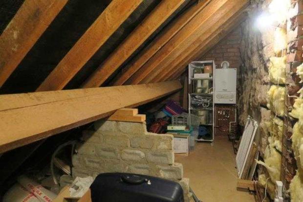 Eaves Storage Room