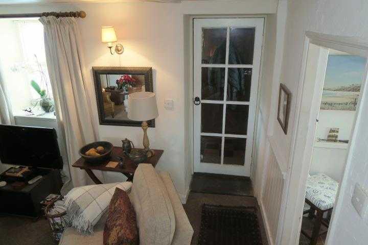 Door to Stone Porch