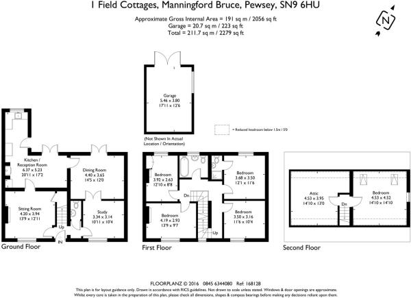 1 Field Cottages 168