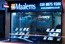 Maalems, Earlsfield - Sales