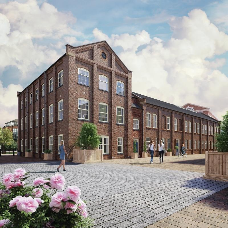 The Waterside at Royal Worcester New Homes Development by Berkeley ...