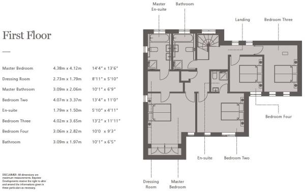 Floorplan First Floo
