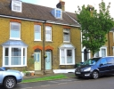 Terraced house in Station Road, Faversham