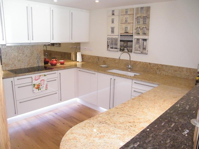 Example of Finished Kitchen
