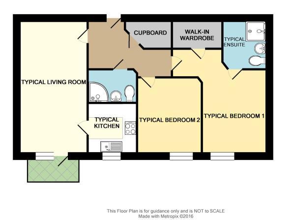 Floor Plan of Typica