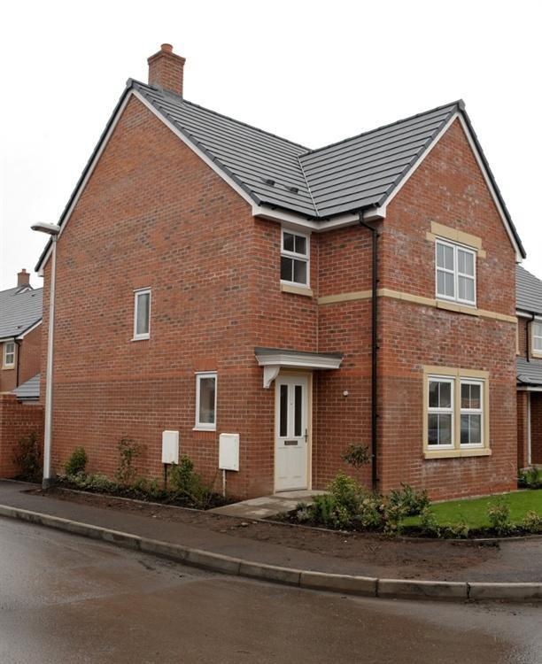 3 bedroom detached house for sale in the hatfield for Modern homes workington