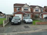 Detached house in Royal Avenue, Leyland...
