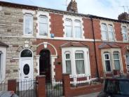 Terraced house in Hinton Street, Splott...