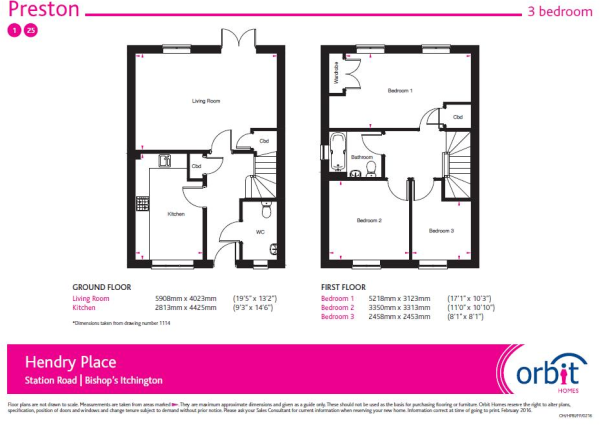 floor plan plot 1 pr