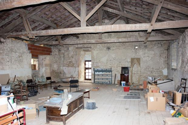 First floor barn