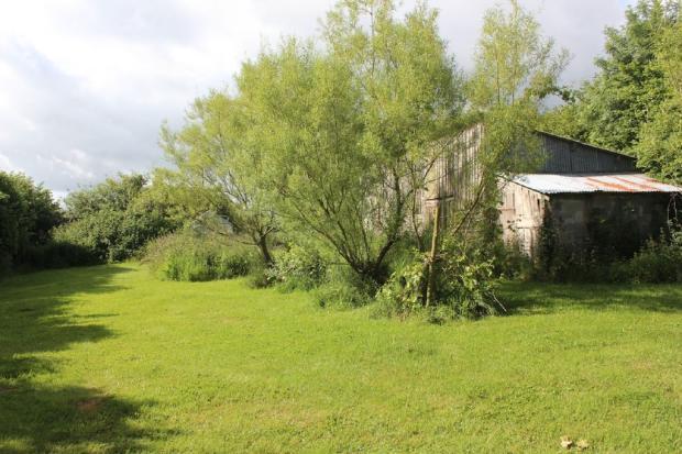 Lower garden & barn