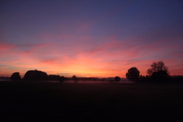 Sunset November 2015