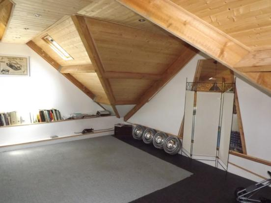 Studio over garage