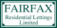 Fairfax Residential Lettings , Chipping Norton  logo