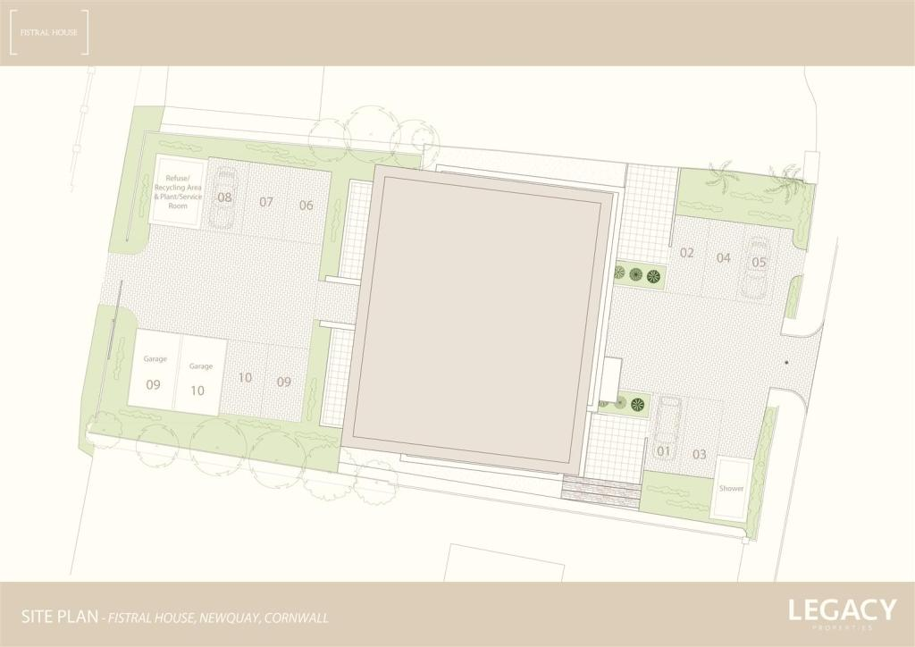 Site Plan - Parking