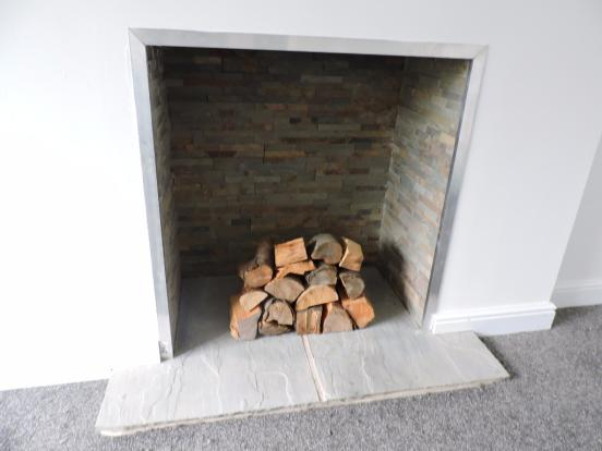 Lounge Fire Place