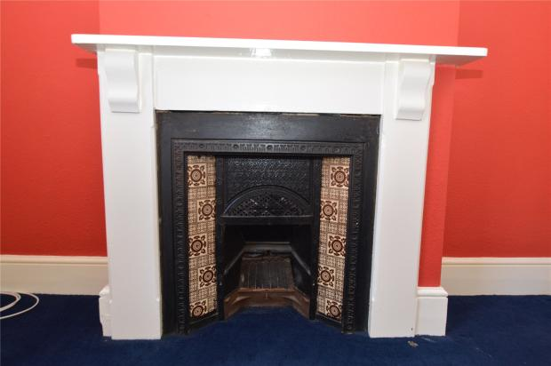 Bedroom 2 Fireplace