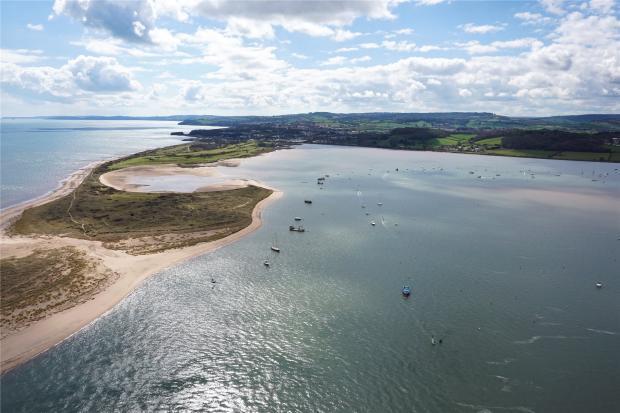 Estuary By Drone