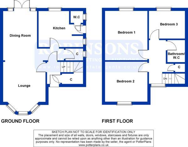 4 South Cottage Plan