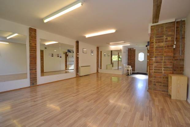 Triple garage/dance