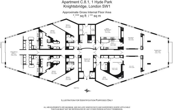 5 bedroom flat for sale in one hyde park knightsbridge for Apartment plans uk
