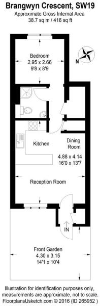 1 bed flat for sale,