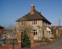 Detached property in Bank Crescent, Ledbury...