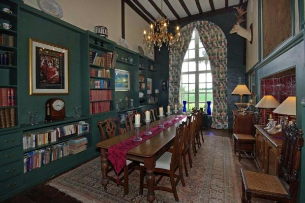 Library/Dining Room