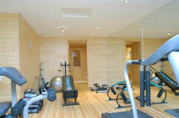 Private Gym with Sauna
