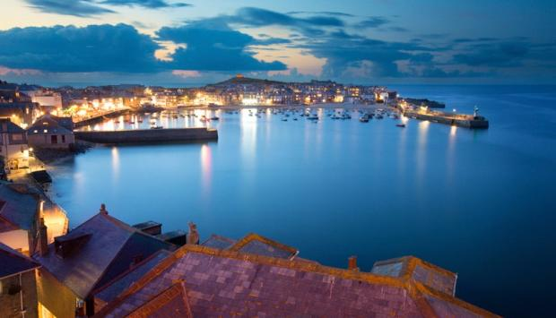 St Ives By Night