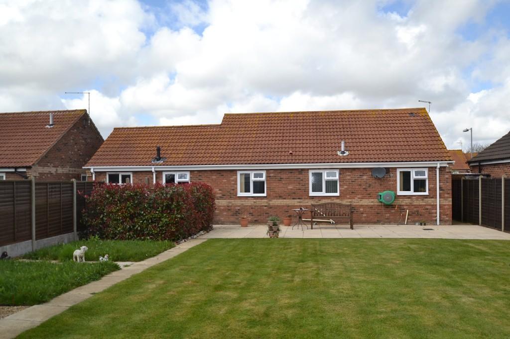 Rear of bungalow