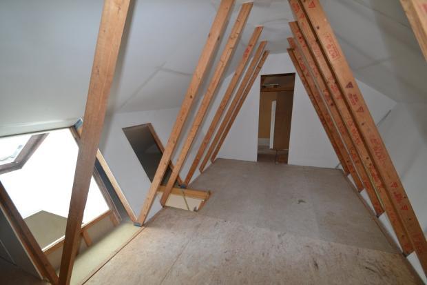 Boarded loft