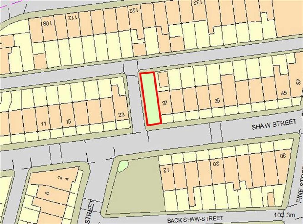 Land For Sale In Shaw Street Bury BL - Map us laatitude shaw land