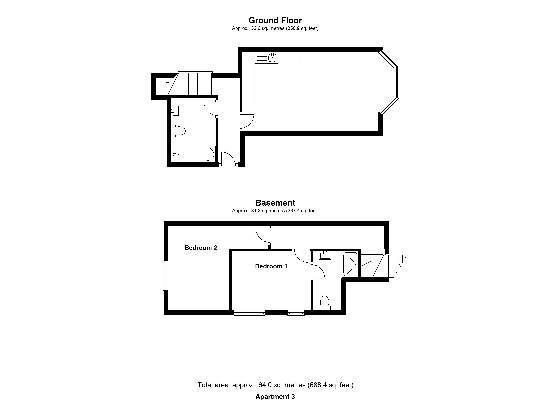 Floorplan Apartment 3