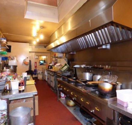 Shop kitchen area